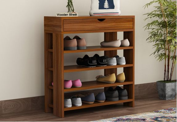 Finola Shoe Rack (Exotic Teak Finish)