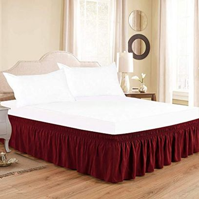 Soft Cotton Bedding Sets online from WoodenStreet, Buy Bed skirts in variety from WoodenStreet