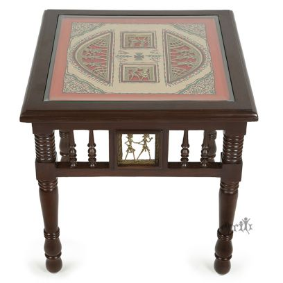 Yuge Brown Side and End Table
