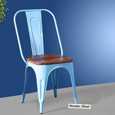 buy metal dining chairs online - garden furniture