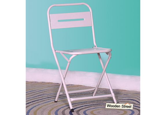 garden chairs and metal folding chairs online price in India - garden furniture
