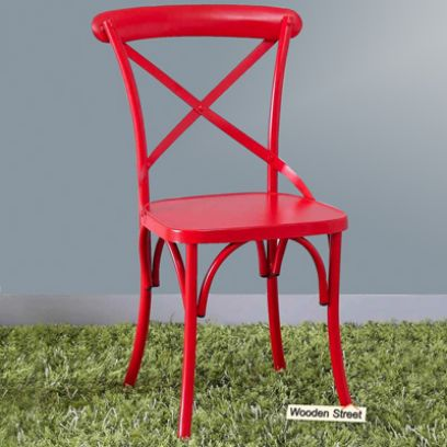 metal chairs outdoor