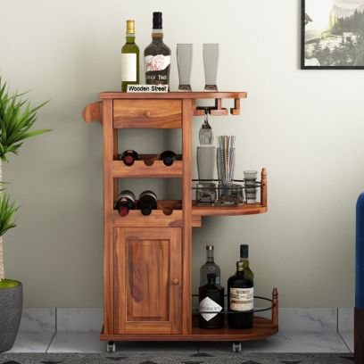 Shop Home Bar Trolley Online @ WoodenStreet