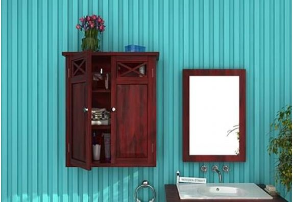 Buy wooden Bathroom Cabinets & Bathroom vanities in Bangalore