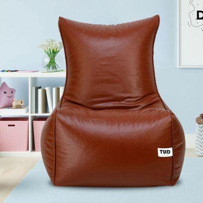 Chair Style Bean Bag Cover (XXXL, Tan)