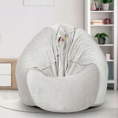 Buy Grey Bean Bags Online at Best Prices | WoodenStreet