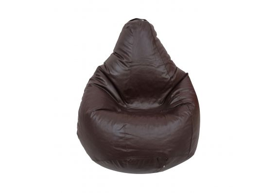 XL Leatherette Bean Bag Cover in Brown