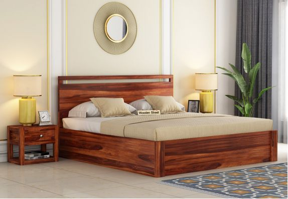Queen Size Hydraulic Storage Bed in Ahmedabad