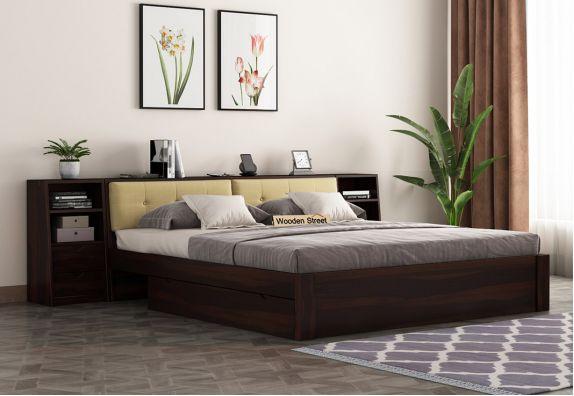 Bolivia Bed (Walnut Finish)