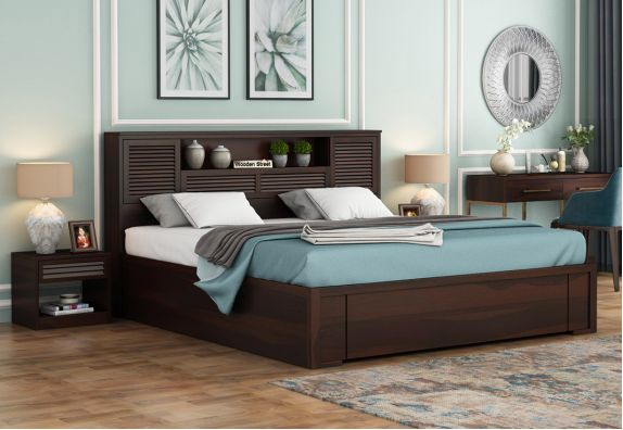 Hydraulic King Size Bed with storage