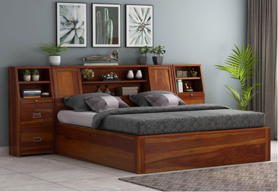 Harley Double Beds design with price, king bed designs