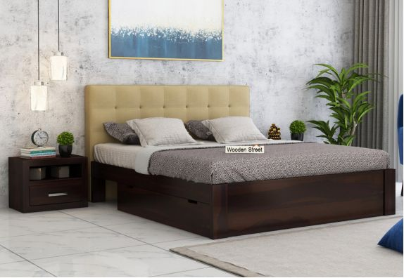 Storage Upholstered Bed Online at low price