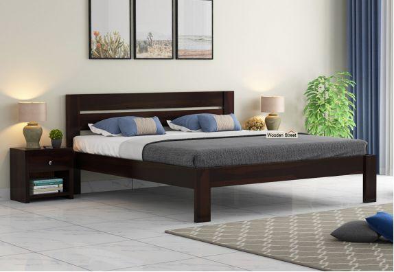 solid wood Queen Size Bed Designs online, wood double beds in India, Beds, bed online, Double bed, cot