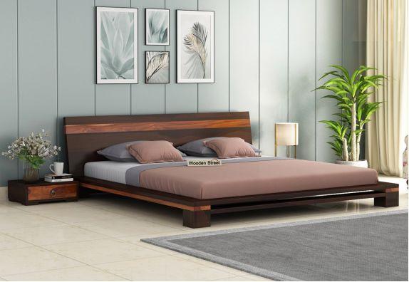 Buy Wooden Double Bed Online In India
