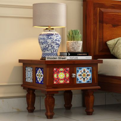 Boho Bed side Table Online India