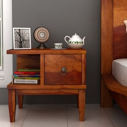 Bedside Tables Upto 70 Off Buy Wooden Bedside Tables Online In India