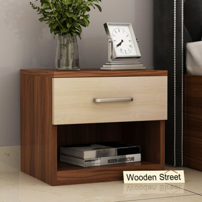Drewno Bedside Table with drawer
