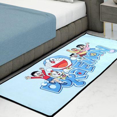 Doremon Digital Print Anit Skid Kids Carpet