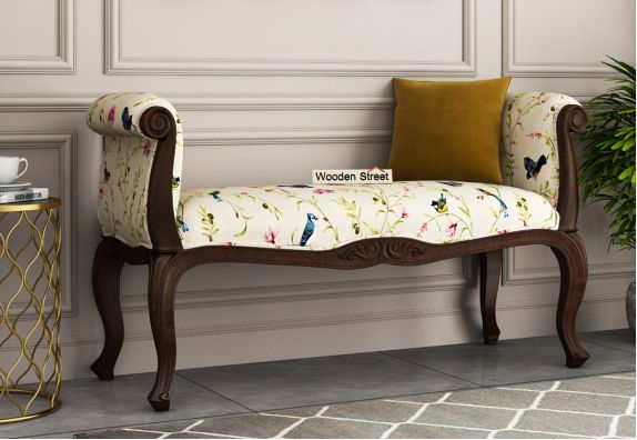 Aroma bedroom Bench (Cream Robins)