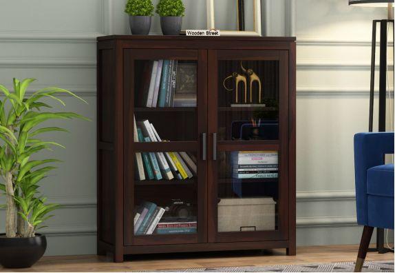 Portus File Cabinet (Walnut Finish)