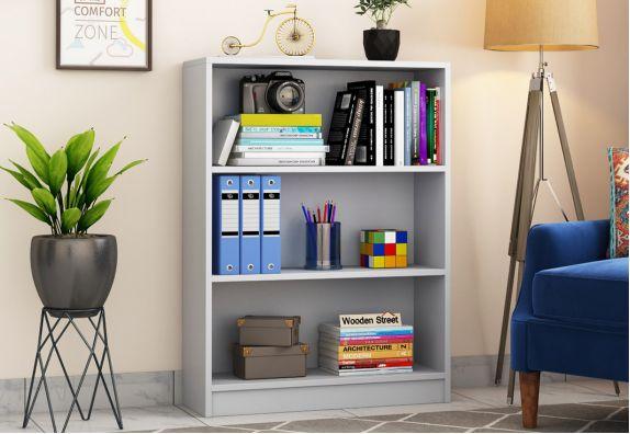 Sprint Book Shelf (White Finish)