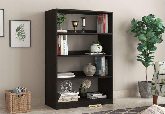 Astra Open Bookshelf (Flowery Wenge Finish)