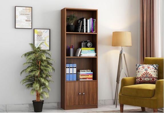 Beck Book Shelf (Exotic Teak Finish)