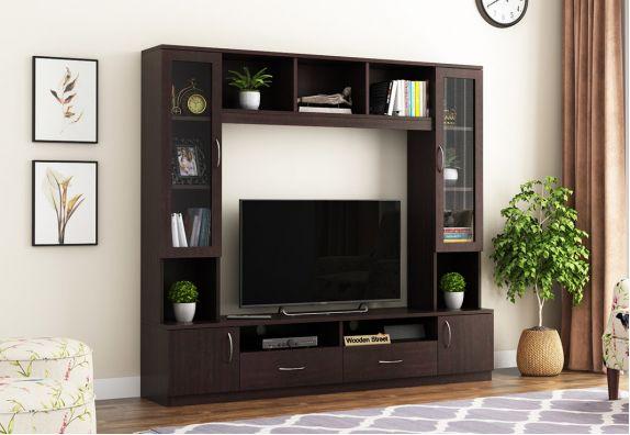 House of Storage TV Unit (Flowery Wenge Finish)