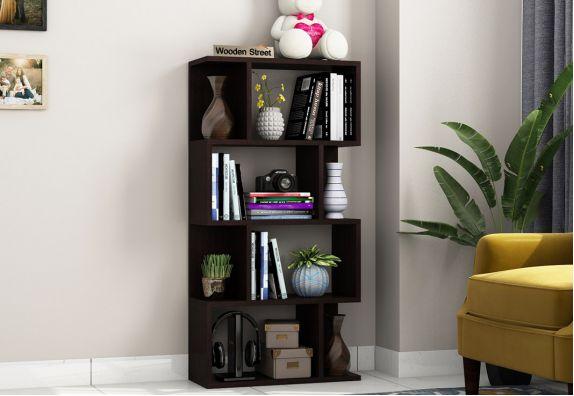 Sia Book Shelf (Flowery Wenge Finish)