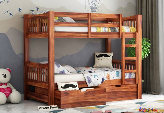 Bunk Bed Upto 55 Off Buy Bunk Beds For Kids Online Woodenstreet