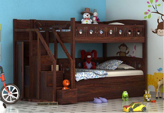 wooden bunk bed online India