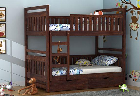 2021 Best Wooden Bunk Bed Designs Online Wooden Street