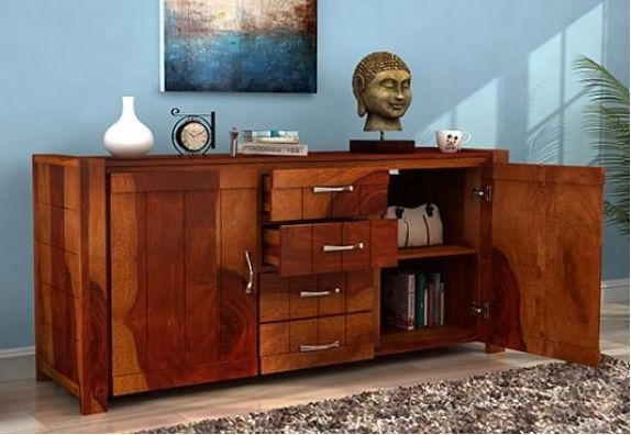 Wooden Sideboards - dining room cupboards