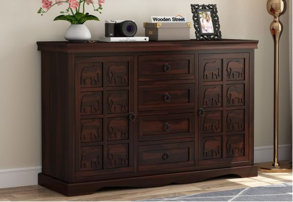 Emboss Sideboard Cabinet India - Dining Cupboard
