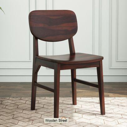 Barrel Chair (Walnut Finish)