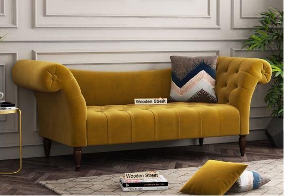 Bella Chaise Lounge (Chestnut Brown)