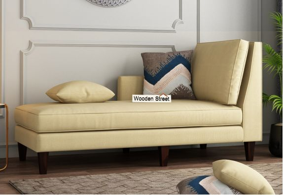 Bracus Chaise Lounge (Cotton, Irish Cream)