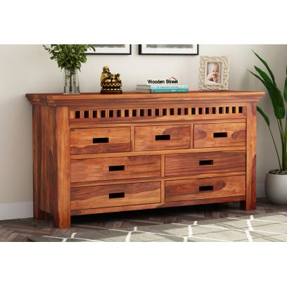 Wooden Chest of Drawers online India, dresser | latest wooden bedroom furniture designs