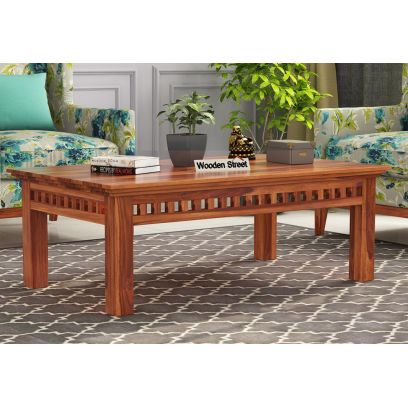 Adolph Coffee Table (Honey Finish)