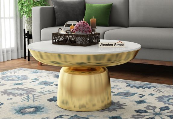 Round Coffee Tables 10 Latest Wooden Round Coffee Table Designs Online In India
