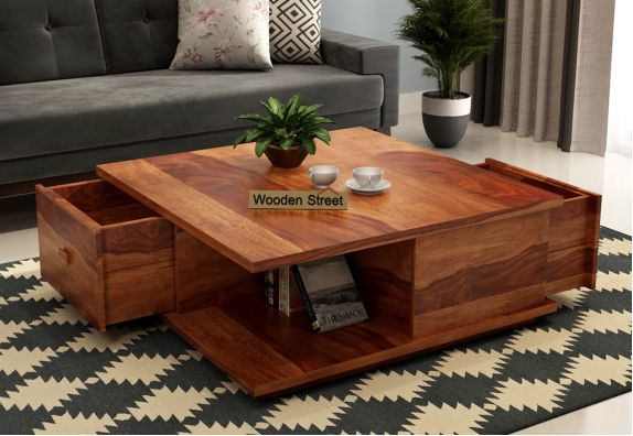 Buy wooden coffee table online for small spaces
