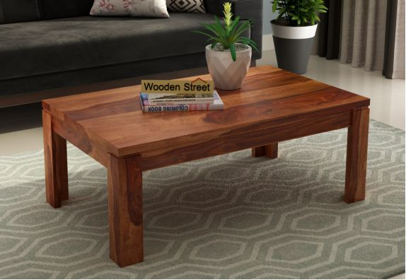 Sable Coffee Table (Honey Finish)