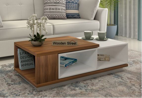 Escobar Coffee Table (Exotic Teak Finish)