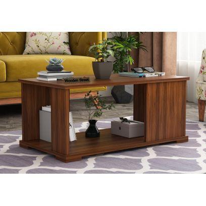 Irwin Coffee Table (Exotic Teak Finish)