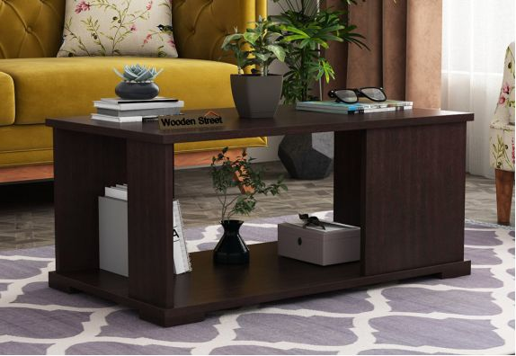 Irwin Coffee Table (Flowery Wenge Finish)