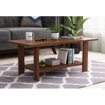 Tanner Coffee Table (Exotic Teak Finish)