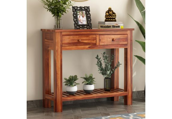 Wales Console Table (Honey Finish)