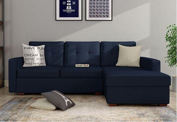 Shop Fabric L Shaped Sofa Set Online India
