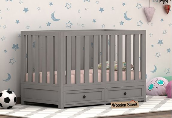 Shop wooden baby cribs or cot online India