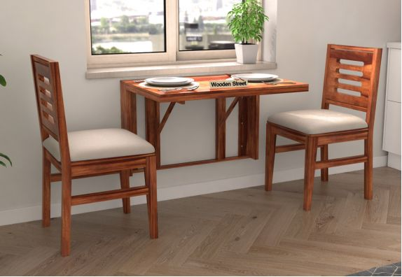 wall mounted two seater folding dining table designs india